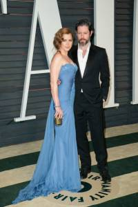 Amy Adams and Darren Le Gallo Vanity Fair Oscars 2015 After Party