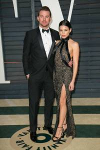 Channing Tatum and Jenna Dewan Tatum Vanity Fair Oscars 2015 After Party