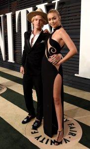 Cody Simpson and Gigi Hadid 2 Vanity Fair Oscars 2015 After Party