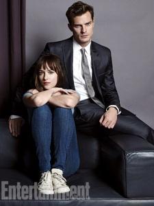 Dakota and Jamie Dornan Fifty Shades of Grey UK Film Premeire