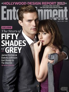 Entertainment Cover Fifty Shades of Grey UK Film Premeire
