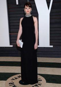 Felicity Jones Vanity Fair Oscars 2015 After Party