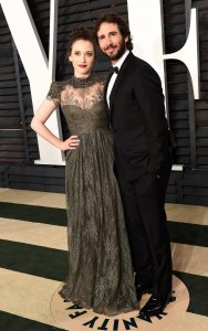 Kat Dennings and Josh Groban Vanity Fair Oscars 2015 After Party