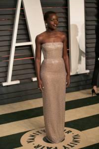 Lupita Nyong'o Vanity Fair Oscars 2015 After Party