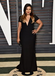 Mindy Kaling Vanity Fair Oscars 2015 After Party