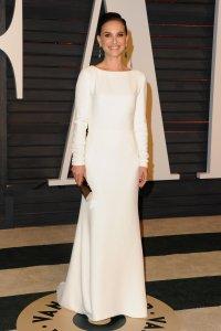 Natalie Portman Vanity Fair Oscars 2015 After Party