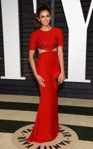 Nina Dobrev Vanity Fair Oscars 2015 After Party