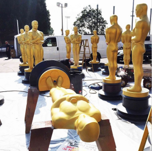 Oscar statues The Oscars - 87th Annual Academy Awards 2015