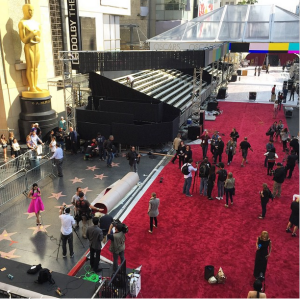 Red Carpet Behind the scenes The Oscars - 87th Annual Academy Awards 2015