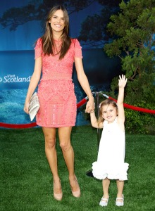 Alessandra Ambrosio and daughter Anja Louise Ambrosio Mazur