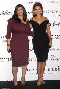 Beyonce Knowles and Mom Tina Knowles Red Carpet