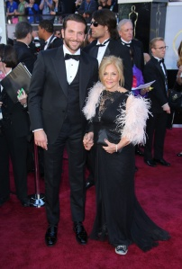 Bradley Cooper and Mom Gloria Campano Red Carpet