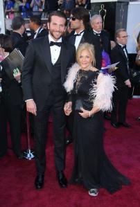 Bradley Cooper and Mom Gloria Campano Red Carpet