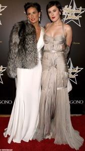 Demi Moore and Rumer Willis Red Carpet