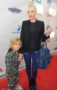 Gwen Stefani and Kingston Rossdale Red Carpet