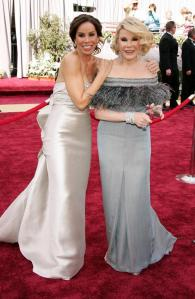 Joan Rivers and Melissa Rivers Red Carpet