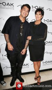 Kris Jenner and Rob Kardashian Red Carpet