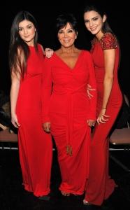 Kris Jenner Kylie Jenner Kendal Jenner Red Carpet
