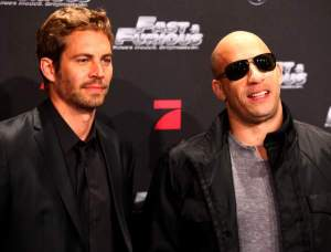 Paul Walker and Vin Diesel Fast & Furious Premiere 2009 UK Film Premiere Leicester Square