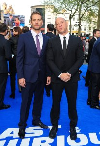 Paul Walker and Vin Diesel Fast and Furious 6 UK Film Premiere London Leicester Square May 17 2013