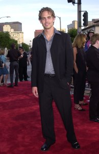 Paul Walker The Fast and The Furious Premiere LA Los Angeles 2001