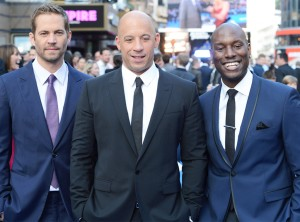 Paul Walker Vin Diesel and Tyrese Gibson Fast and Furious 6 UK Film Premiere London Leicester Square May 17 2013