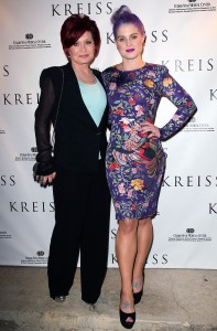 Sharon Osbourne and Kelly Osbourne Red Carpet
