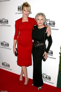 Tippi Hedren and Melanie Griffith Red Carpet
