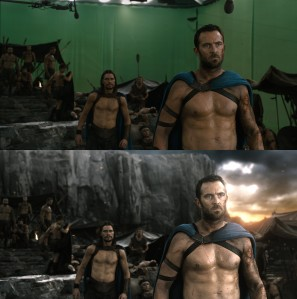 Making of 300 Rise of an Empire - Before and After Visual Effects CGI