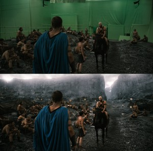 Making of 300 Rise of an Empire - Before and After Visual Effects CG