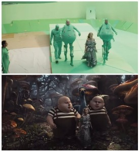 Making of Alice In Wonderland - Before and After Visual Effects CGI