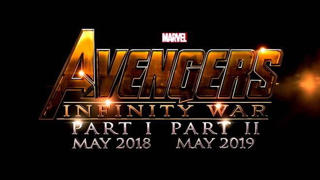 Avengers Infinity War Part 1 and 2 Logo - MARVEL Cinematic Universe Phase 3