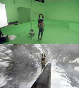 Making of Captain America: The First Avenger - Before and After Visual Effects CGI