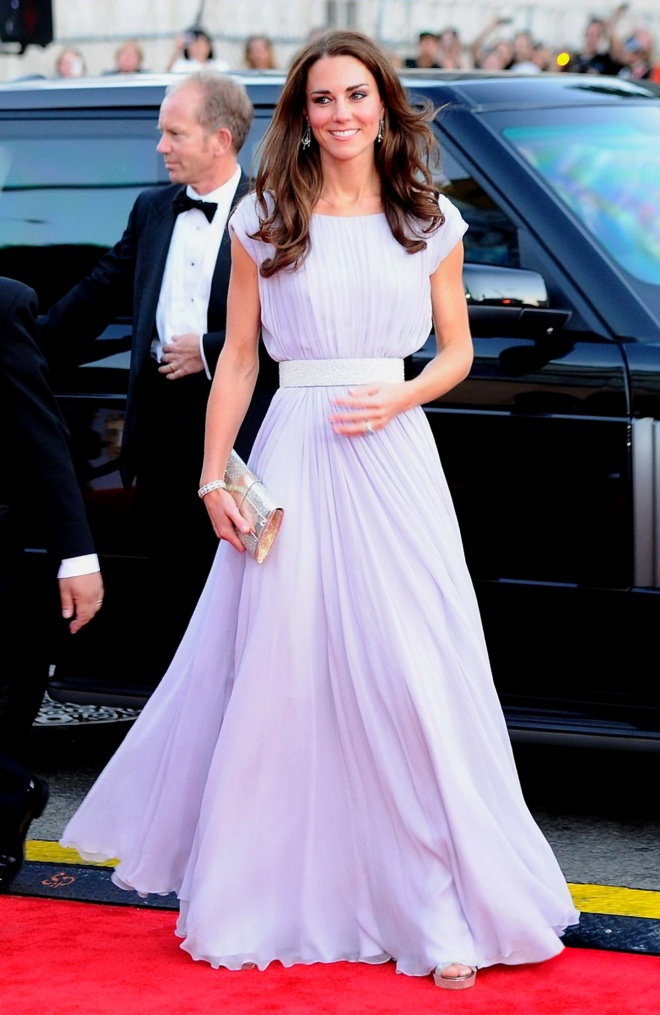 Duchess Kate Middleton at the BAFTA Awards 2011