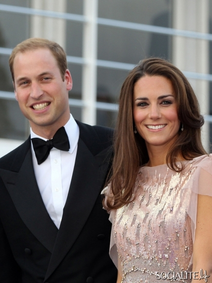 Duke and Duchess of Cambridge, Prince William and Kate Middleton at the ARK Gala Awards 2011