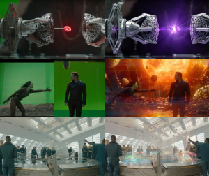 Making of Guardians of the Galaxy - Before and After Visual Effects CGI