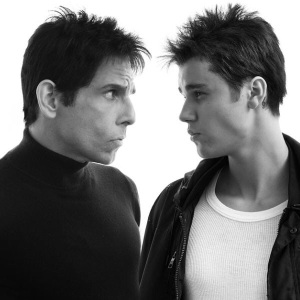 When Blue Steel met Justin Bieber!