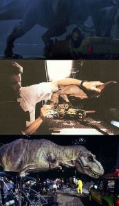 Making of Jurassic Park - Before and After Visual Effects CGI