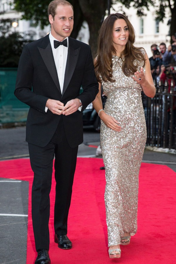 Duke and Duchess of Cambridge, Prince William and Kate Middleton - Tusk Conservation Awards 2013