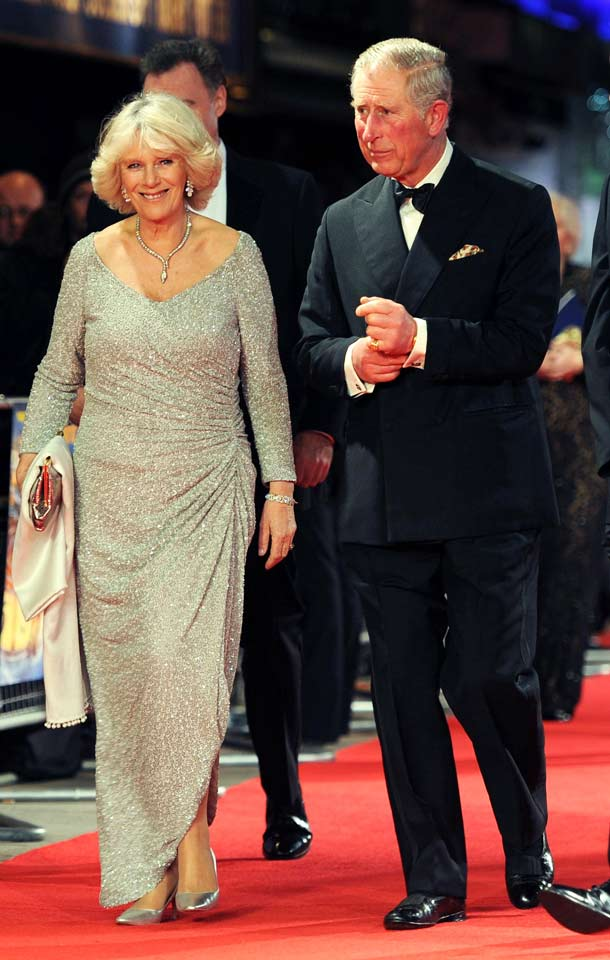 Prince Charles of Wales and Duchess of Cornwall, Camilla - Hugo Premiere 2011