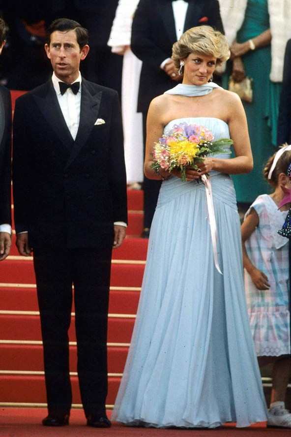 Prince Charles and Princess Diana Cannes Film Festival