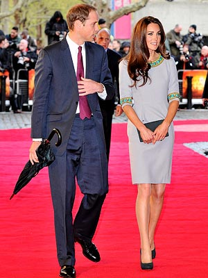 Duke and Duchess of Cambridge, Prince William and Kate Middleton at the African Cats Premiere 2012