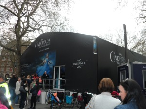 Cinderella Exhibition Leicester Square Gardens Swarovski - WhatsOnTheRedCarpet - London 2015