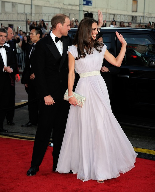 Duke and Duchess of Cambridge, Prince William and Kate Middleton at the BAFTA Awards 2011