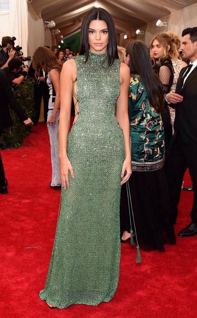 Kendall Jenner - MET GALA 2015 RED CARPET