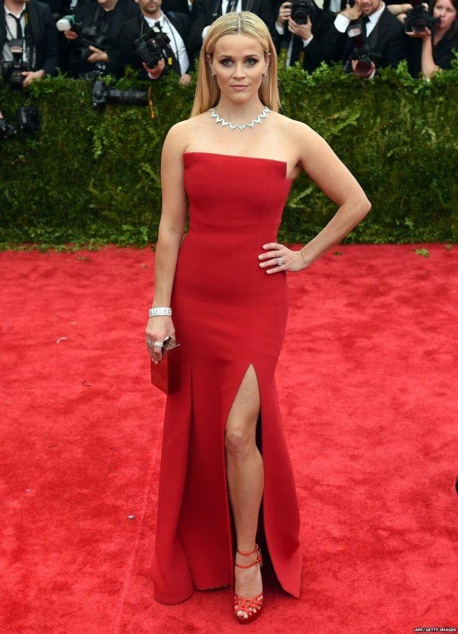 Reese Witherspoon - MET GALA 2015 RED CARPET
